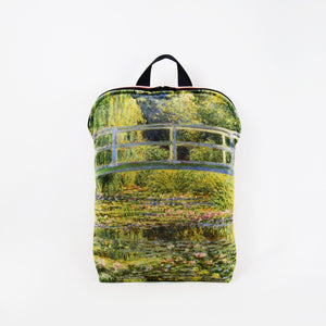 "Claude Monet ""The Water Lily Pond"" backpack"
