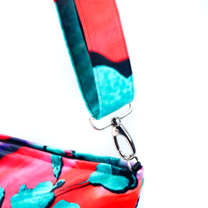 "Bag strap ""POPPY LOVE"""