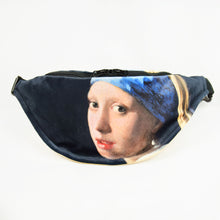 "Load image into Gallery viewer, Johannes Vermeer ""Girl with a Pearl Earring"" fanny pack"