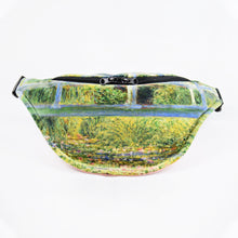 "Load image into Gallery viewer, Claude Monet ""The Water Lily Pond"" fanny pack"