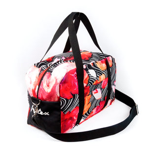 "Travel bag ""BLOOMING FIRE"""