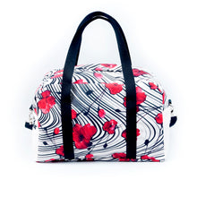 "Load image into Gallery viewer, Travel bag ""POPPY LOVE"""