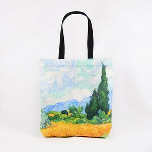 "Vincent van Gogh ""Wheat Field with Cypresses"" shopper / tote bag"