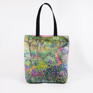 "Claude Monet ""The Artist's Garden at Giverny"" shopper / tote bag"
