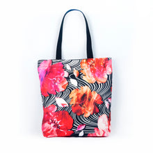 "Load image into Gallery viewer, Tote bag ""BLOOMING FIRE"""