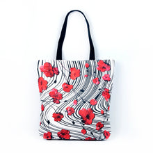 "Load image into Gallery viewer, Tote bag ""POPPY LOVE"""