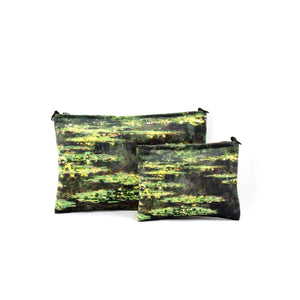 "Claude Monet ""Water Lilies"" cosmetic bag"