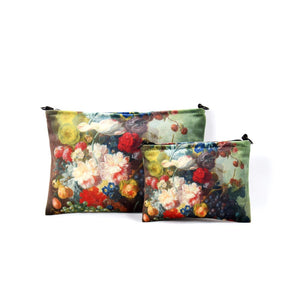 "Jan van Os ""Fruit and Flowers in a Terracotta Vase"" cosmetic bag"
