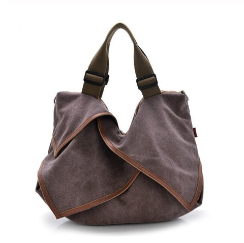 Claire - Purple - Canvas Bag
