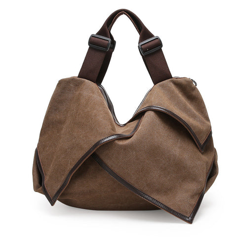 Hannah - Brown - Canvas Tote Bag