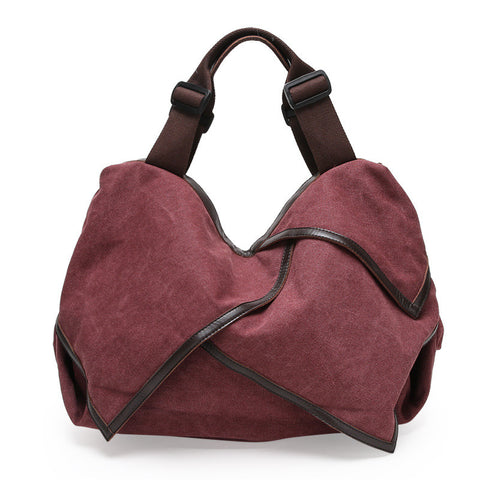 Hannah - Purple - Canvas Tote Bag