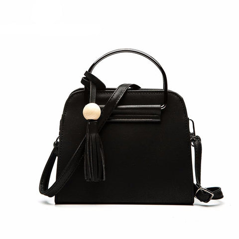 Jenny - Black - PU Leather Handbag
