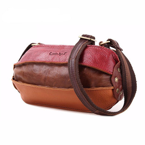 Marion - Multicolour - Genuine Leather Handbag