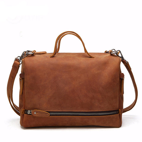 Tara - Brown - Genuine Leather Bag