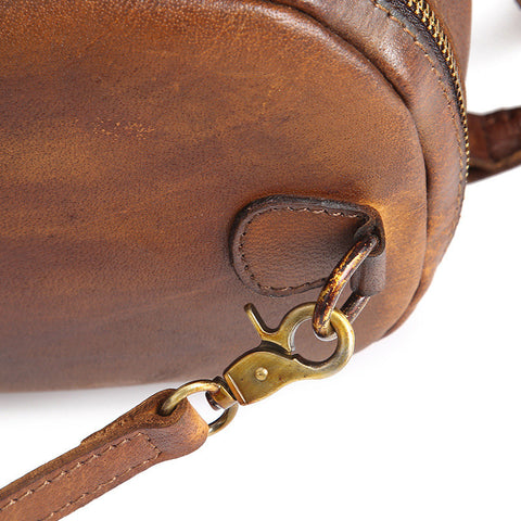 Suzie - Brown - Genuine Leather Bag