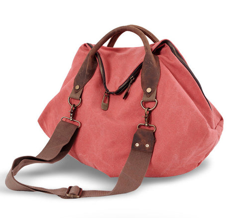 Megan - Orange - Large Canvas Bag
