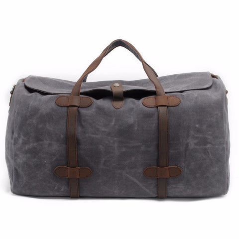 Berlin - Grey - Canvas Travel Bag
