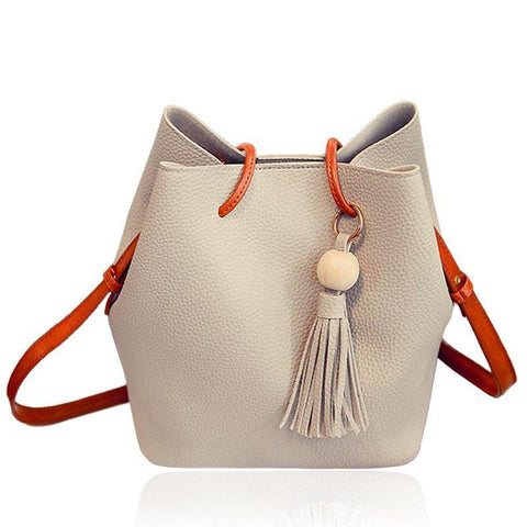 Isabelle - Beige - Bucket Bag