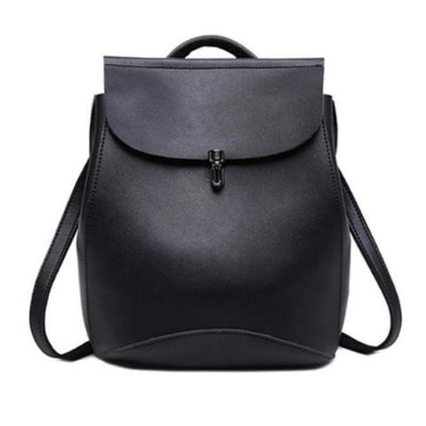 Ava - Black - Satchel