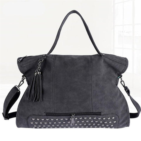 Andrea - Black - Tote Bag