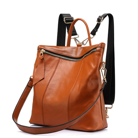Felicity - Shiny Brown - Satchel