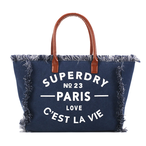 Parie - Blue - Denim Leisure Bag