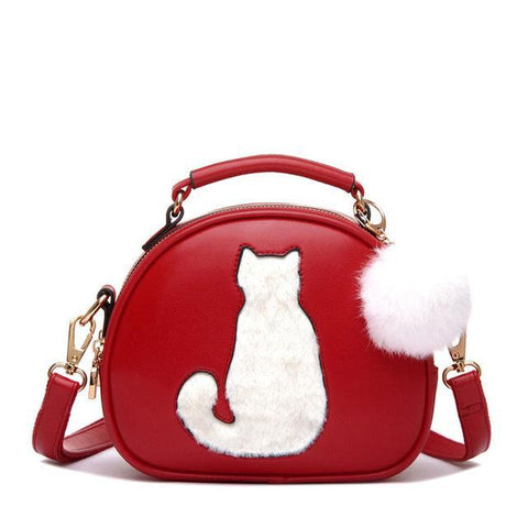 CatBaby - Red - Shoulder Bag