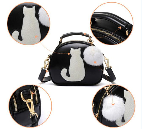 CatBaby - Black - Shoulder Bag