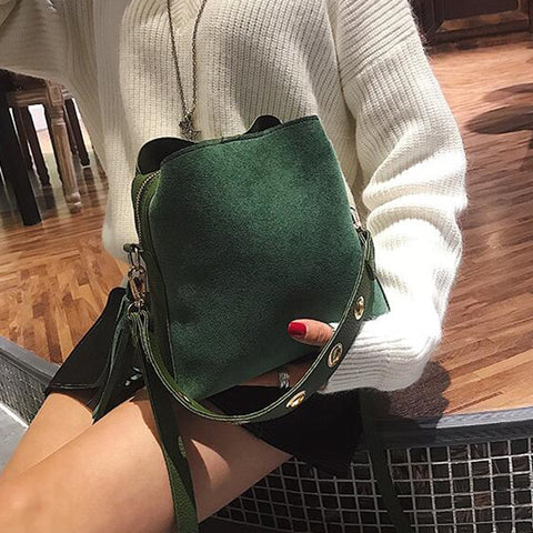 Olivia - Forest Green - Shoulder Bag