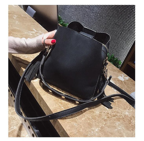 Olivia - Black - Shoulder Bag