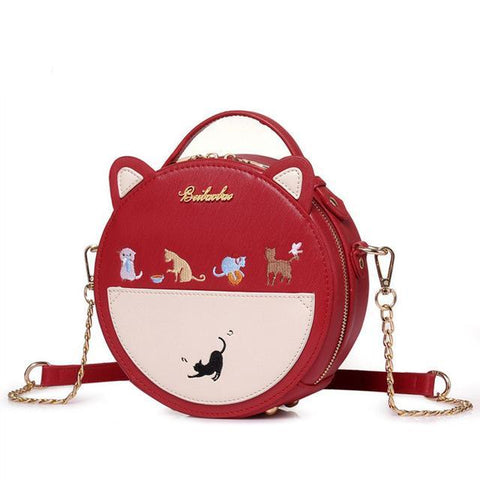 CatPlay - Red - Shoulder Bag