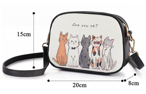 CatStory - White - Shoulder Bag