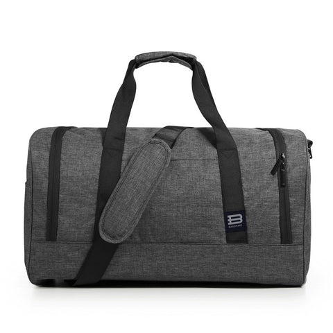 Justin - Grey - Gym Bag
