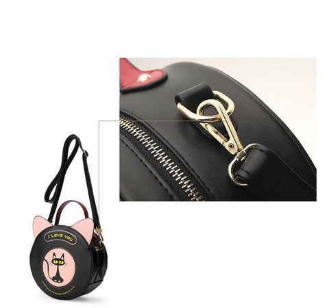 CatLover - Black - Shoulder Bag