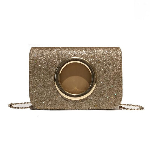 Kaitlyn - Gold - Clutch