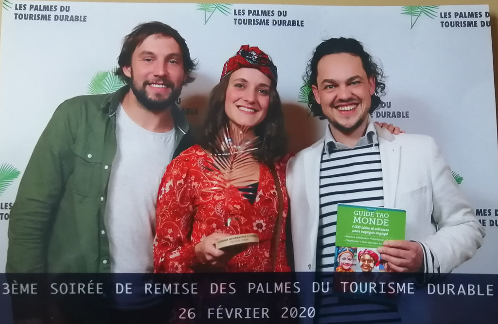 Le guide Tao Monde remporte la palme du tourisme durable 2020 !