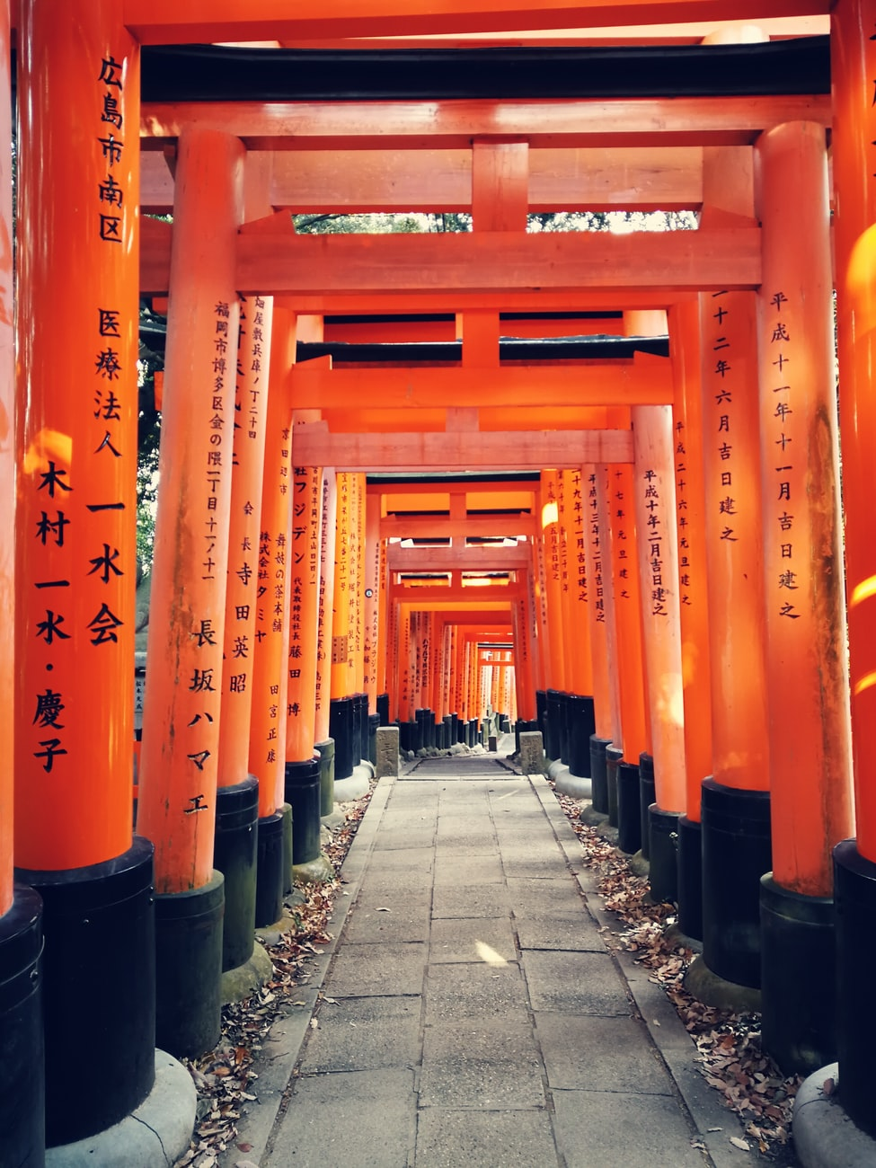Inari Taisha travel evasion candle