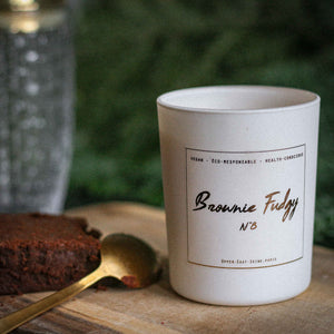 BROWNIE FUDGY | Bougie gourmande coffee shop