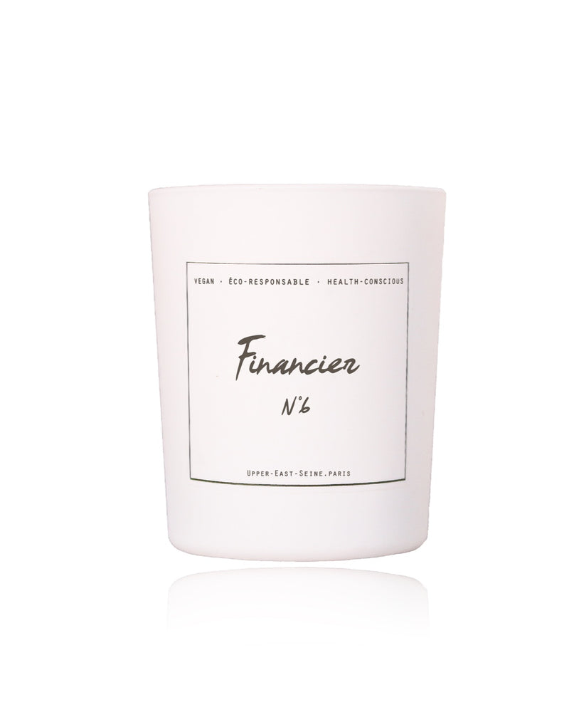 FINANCIER N°6 | White Velvet