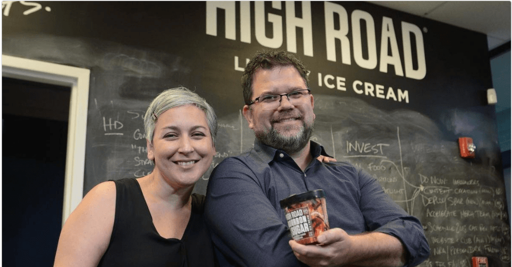 Keith and Nicki Schroeder, Founders, High Road Craft Ice Cream