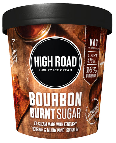 Bourbon Burnt Sugar Ice Cream