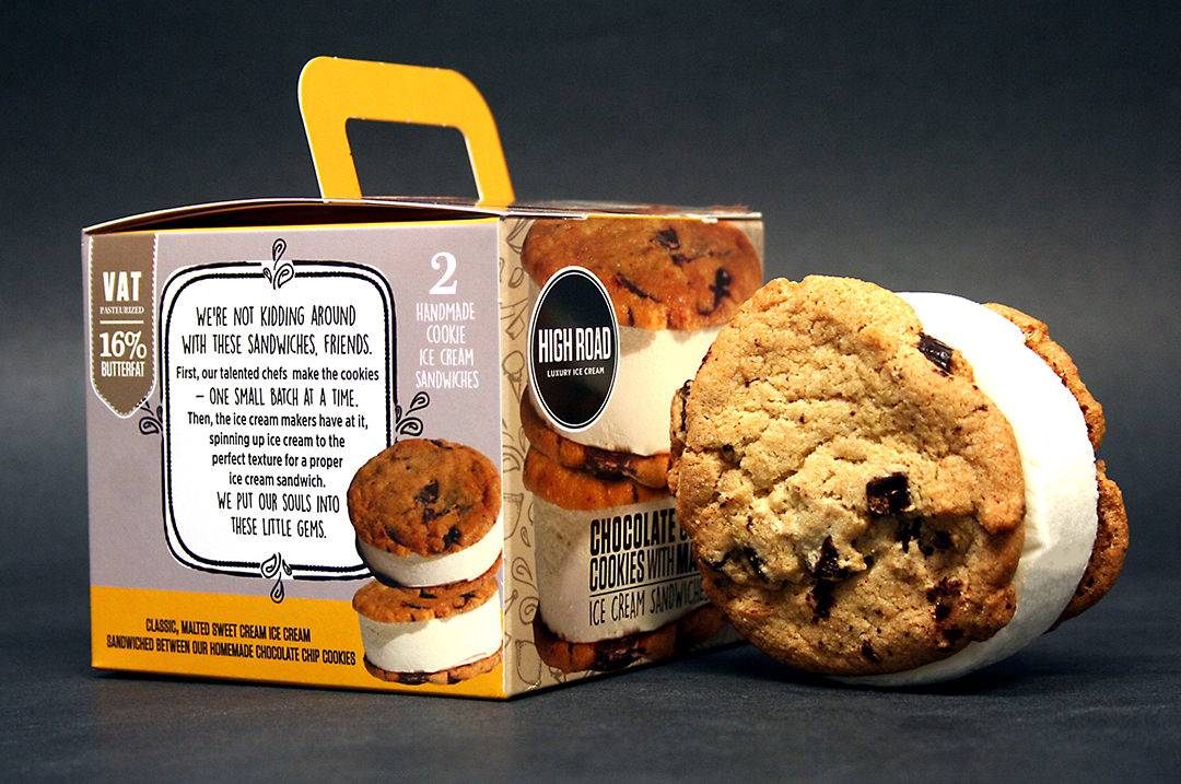 THIS & THAT COLLECTION (2 pints of each flavor; 2 packs of ice cream sandwiches) FREE SHIPPING!