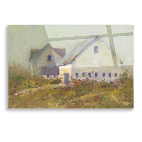 Image of Epic Art 'White Barn I' by Marilyn Wendling, Acrylic Glass Wall Art