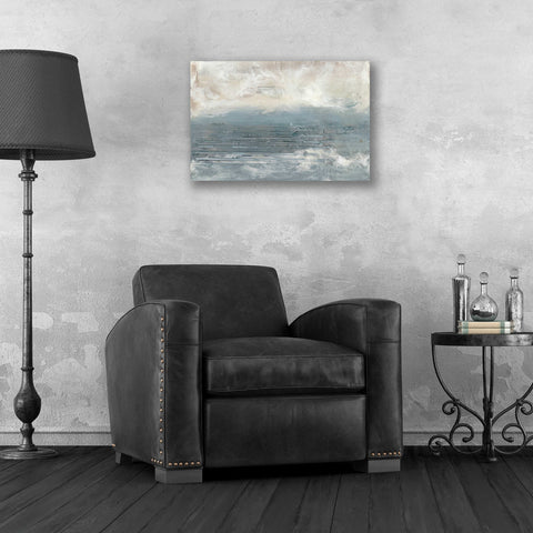 Image of Epic Art 'Pale Blue I' by Lila Bramma, Acrylic Glass Wall Art,24x16