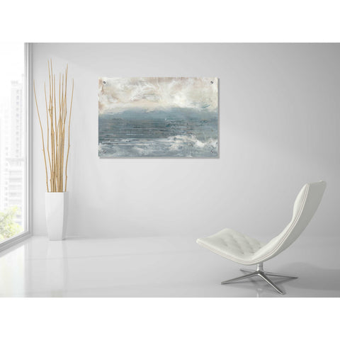 Epic Art 'Pale Blue I' by Lila Bramma, Acrylic Glass Wall Art,36x24