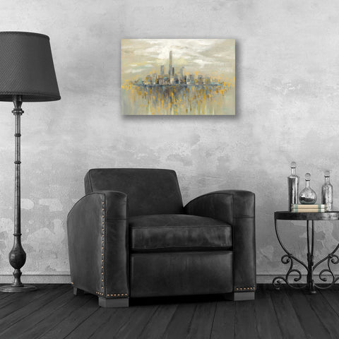 Image of Epic Art 'Manhattan Fog' by Silvia Vassileva, Acrylic Glass Wall Art,24x16