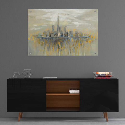 Epic Art 'Manhattan Fog' by Silvia Vassileva, Acrylic Glass Wall Art,36x24