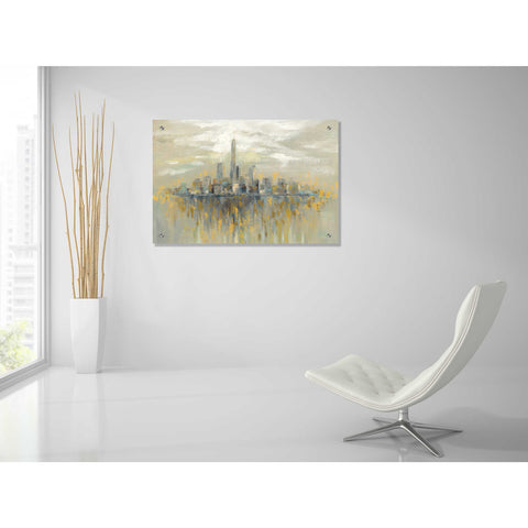 Image of Epic Art 'Manhattan Fog' by Silvia Vassileva, Acrylic Glass Wall Art,36x24
