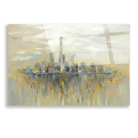 Image of Epic Art 'Manhattan Fog' by Silvia Vassileva, Acrylic Glass Wall Art