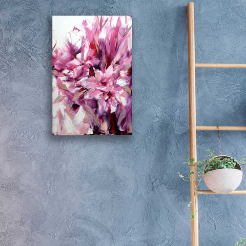Epic Art 'Lily' by Alexander Gunin, Acrylic Glass Wall Art,16x24